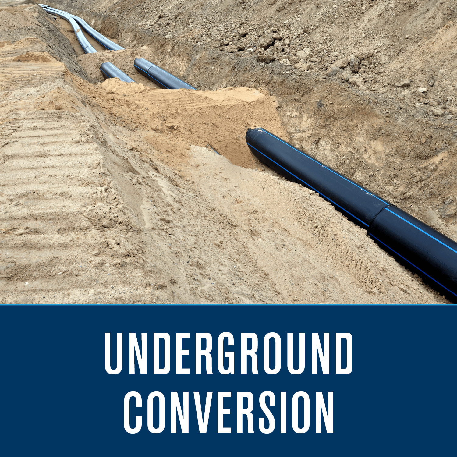 Underground Conversion