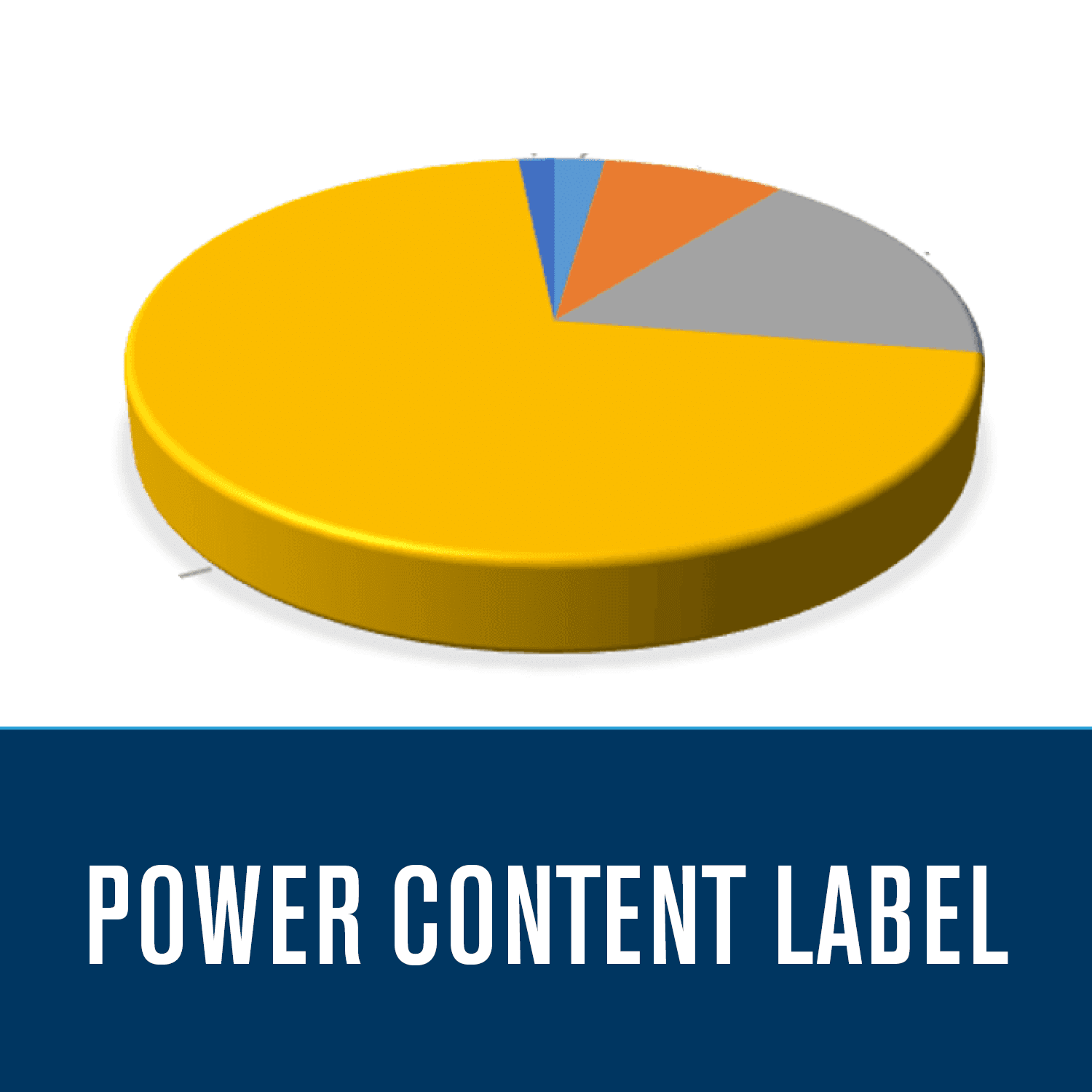 Power Content Label