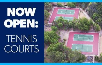 Tennis courts open 5.15.20